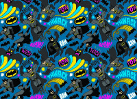 Обложка Batman Pattern для паспорта / автодокументов