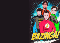 Обложка Bazinga team black для паспорта / автодокументов