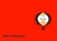 Обложка Don`t kill Kenny для паспорта / автодокументов