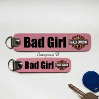 Брелок Harley Davidson Bad Girl