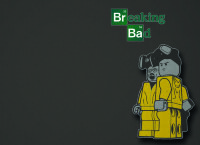 Обложка Lego Breaking Bad для паспорта / автодокументов